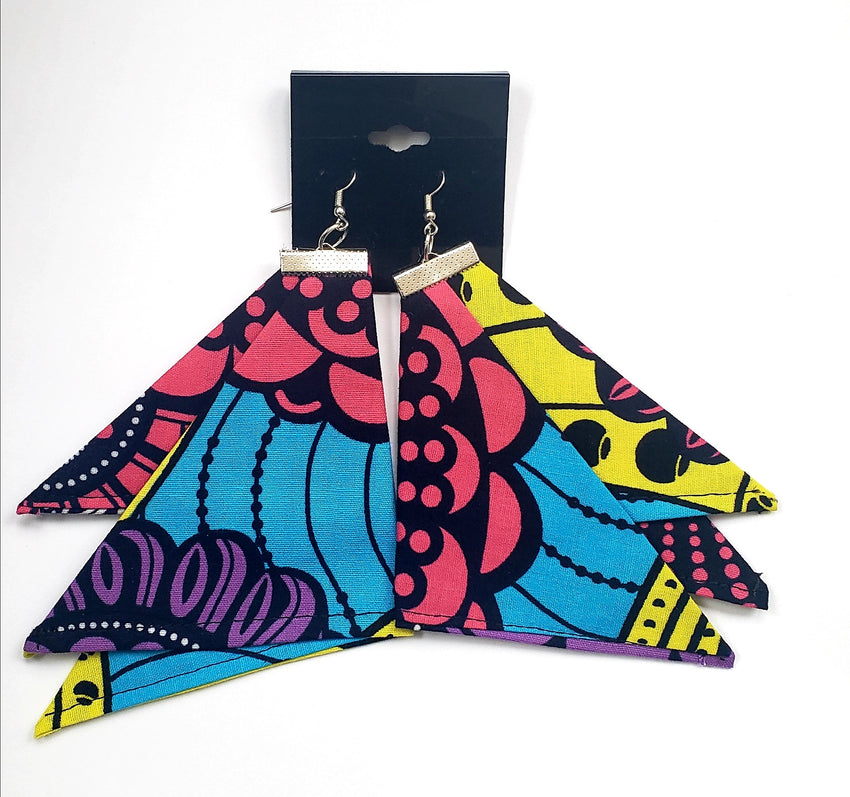 "The ""Nomi"" Fabric Earrings"