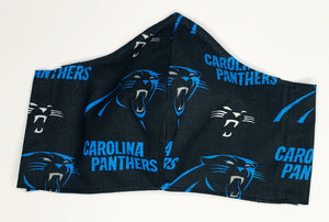 Carolina Panthers Mask w/ Filter Pocket