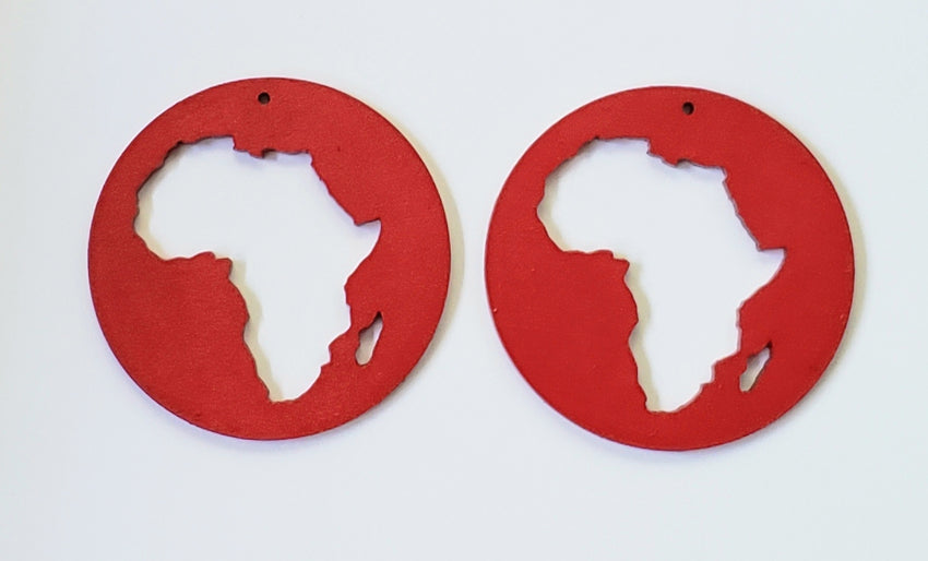 Africa Cutout Earrings