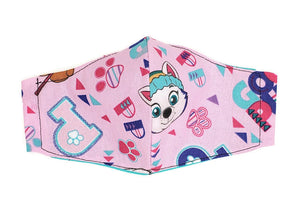 Girl's Paw Patrol Face Mask w/ Filter Pocket