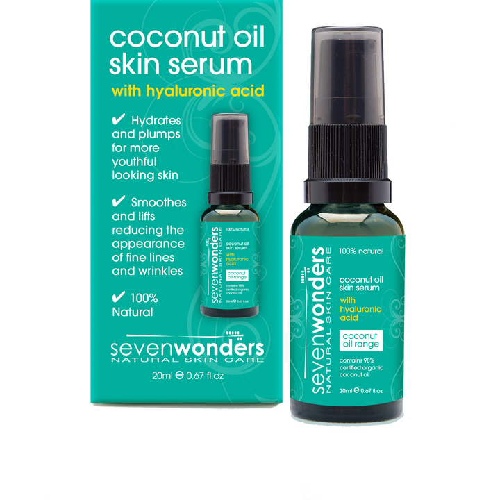 Seven Wonders Natural Hair Care Coconut Oil Skin Serum