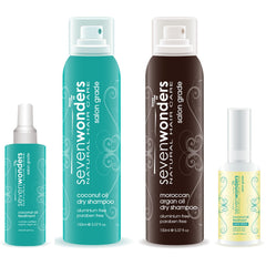 Seven Wonders Natural Hair Care November Bundle (Special)