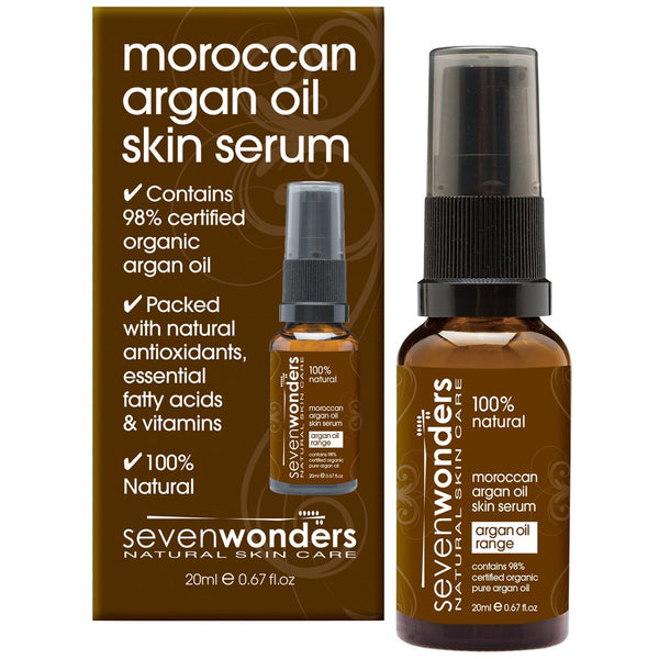 Seven Wonders Natural Hair Care Moroccan Argan Oil Skin Serum