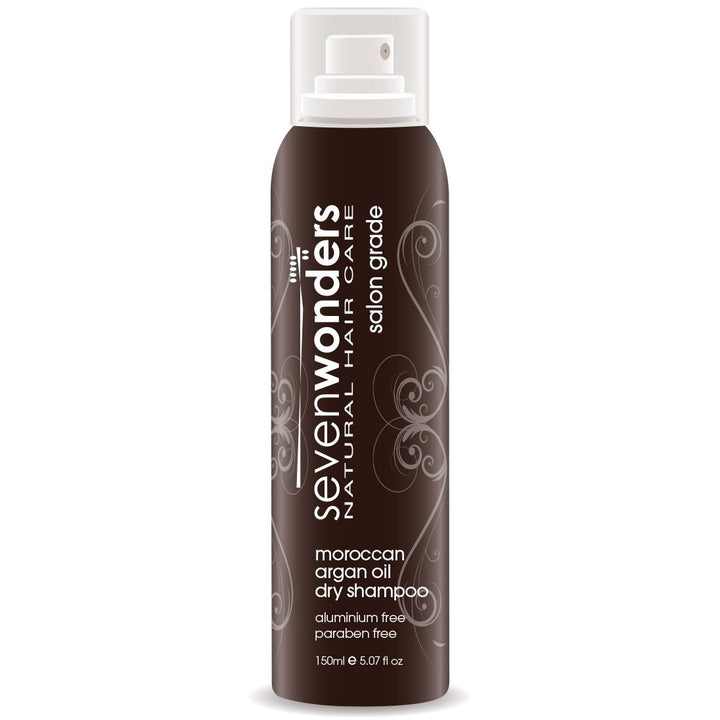 Seven Wonders Natural Hair Care Moroccan Argan Oil Dry Shampoo