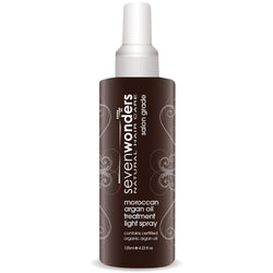 Seven Wonders Natural Hair Care Moroccan Argan Oil Light Spray