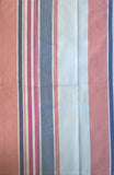 Blue, Orange & Pink Striped Kitchen Towel