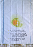 White Printed Kitchen Towel