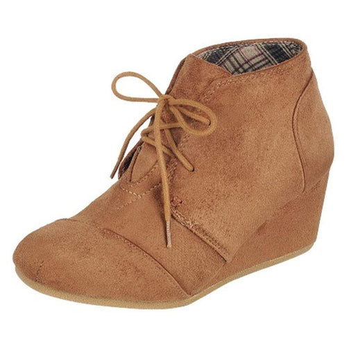 Tan Patricia Wedge