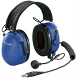 PELTOR ATEX Over-the-Head Heavy Duty Headset with Boom Mic - PMLN6087A - Radio-Shop.uk