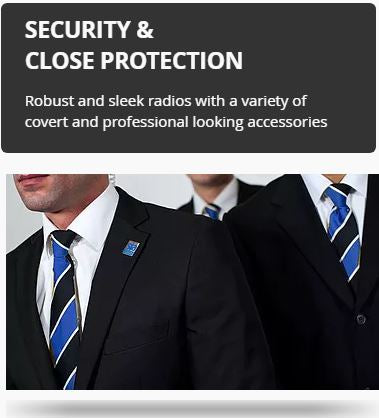 Secuity & Close Protection Radios