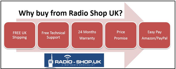 Why Buy Two Way Radios From Radio-Shop.uk