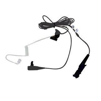 Motorola 2-Wire Surveillance Kit with translucent tube, Black - PMLN7269A_Radio-Shop UK