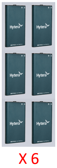 Bundle - Hytera BL2009 2000mAh li-ion battery 3.7V_Radio-Shop UK
