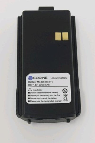 Codine DP-340 2200mAh Battery_Radio-Shop UK