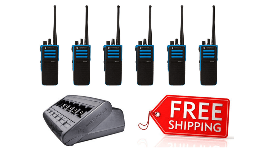 Package Deal - 6 X Motorola DP4401ex Digital ATEX Two Way Radio_Radio-Shop UK
