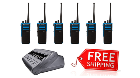 Package Deal - 6 X Motorola DP4401ex Digital ATEX Two Way Radio - Radio-Shop.uk - 1