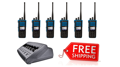 Package Deal - 6 X Motorola DP4801ex Digital ATEX Two Way Radio_Radio-Shop UK