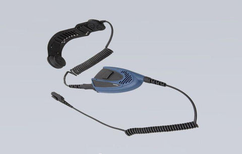 ATEX Bone Microphone Headset with PTT part - EBN10-Ex - Radio-Shop.uk