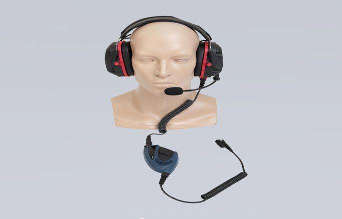 ATEX Heavy Duty Headset with PTT part - ECN20-Ex - Radio-Shop.uk