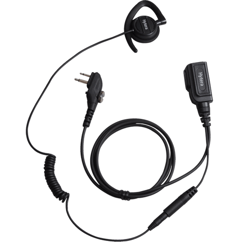 Hytera Earpiece with inline -MIC PTT - EHM20_Radio-Shop UK
