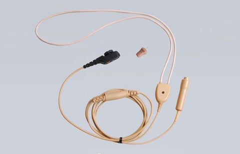 Hytera 2-wire Earpiece with Wireless Earphone and Neck Loop (Beige) - EWN09_Radio-Shop UK