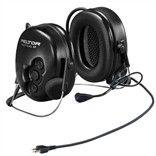 FLEX Tactical PELTOR Headset with Neckband, XP Stereo Active Listening & socket for Flex cable - MT1H7B2-77 - Radio-Shop.uk