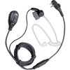 Bundle - Hytera 2-wire surveillance earpiece with a volume control knob and transparent acoustic tube (Black) - EAM13_Radio-Shop UK