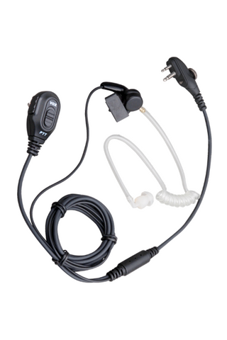 Hytera 2-wire surveillance earpiece with VOX and transparent acoustic tube (Black) - EAM13_Radio-Shop UK