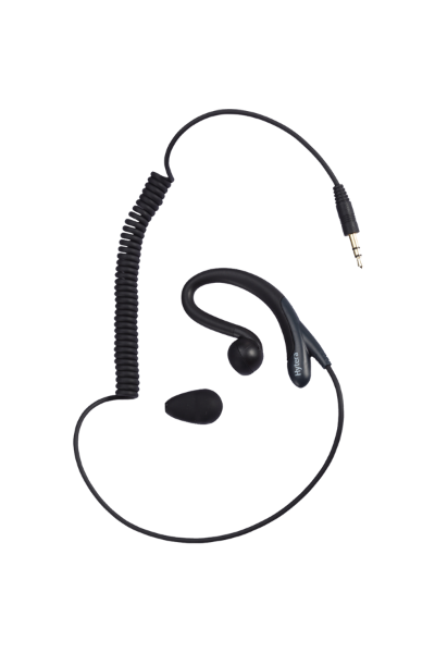Hytera Receive-Only C Style Earpiece (for use with PTT & MIC cable) - EH-01_Radio-Shop UK