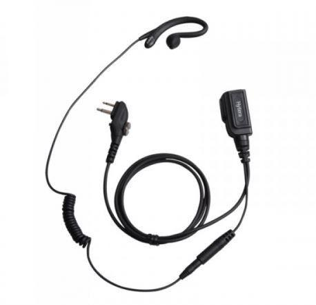 Hytera EHM19 Earpiece in C module with inline-MIC PTT_Radio-Shop UK