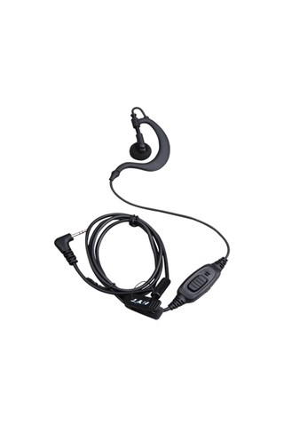 Hytera C-shape earpiece with in-line mic/PTT with VOX function - EHS12_Radio-Shop UK