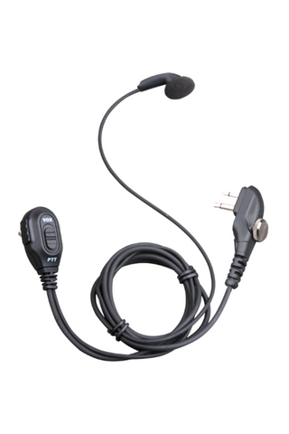 ESM12 Earbud with in-line PTT and volume control - Hytera - Radio-Shop.uk