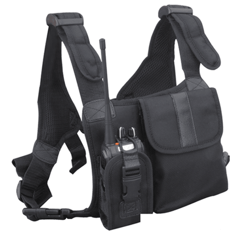 Hytera LCBN13 Universal Chest Pack (Nylon, Black) - Radio-Shop.uk