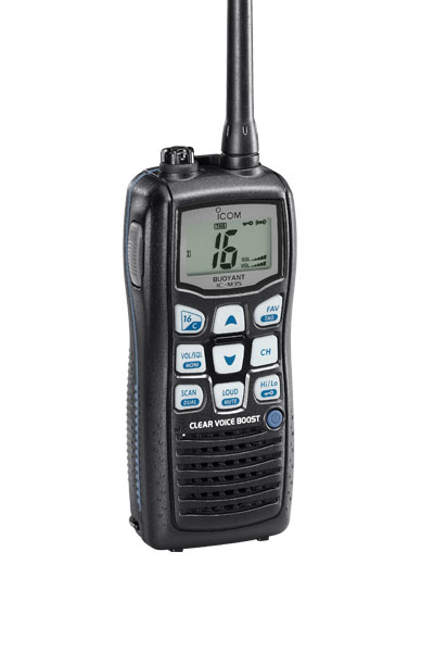 Icom Ic-M35 Floating Marine Two Way Radio Radios