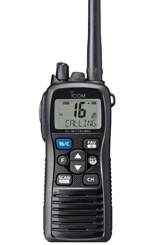 Icom IC-M73EURO Marine Floating VHF Two Way Radio_Radio-Shop UK