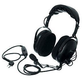 Kenwood Heavy-duty Noise Cancelling Headset with PTT - KHS-10-OH - Radio-Shop.uk