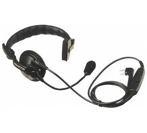 Kenwood Headset with Boom Microphone and PTT - KHS-7A - Radio-Shop.uk