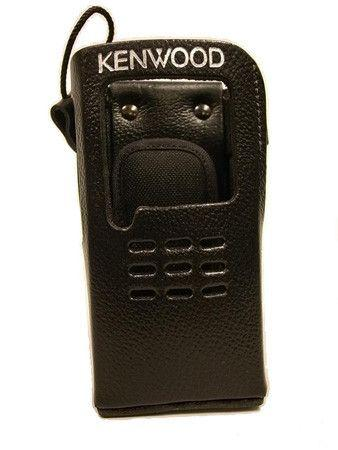 Kenwood Leather Case with Belt Clip (for Non-Keypad Portables) - KLH-159PC - Radio-Shop.uk