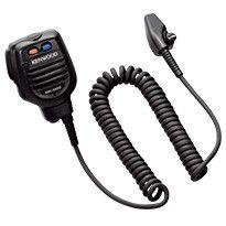 Kenwood Speaker Microphone IP65/67 Dust & Water With The Earphone Jack Cap Closed Tightly - KMC-54WD - Radio-Shop.uk