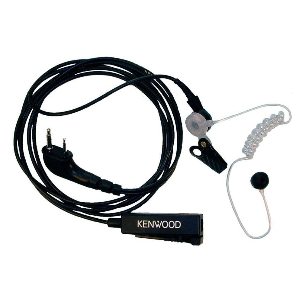 Kenwood 2 Wire Palm Microphone - Black - KHS-8BL_Radio-Shop UK