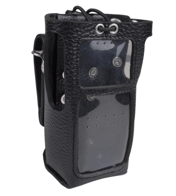 Hytera Leather case (with LCD display and keypad) (for thick battery) - LCY006_Radio-Shop UK