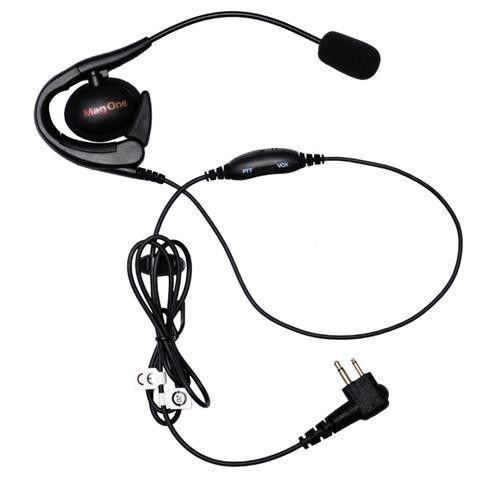 MagOne Earset with Boom Mic & In-line PTT/VOX switch - PMLN6537A - Radio-Shop.uk
