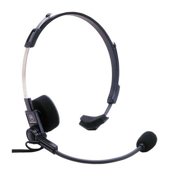 Motorola Lightweight Headset with Boom Mic - Motorola 00179 - Radio-Shop.uk