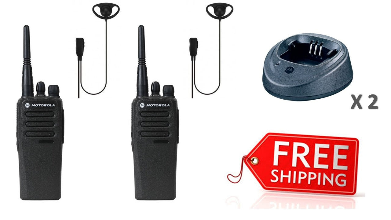 Motorola DP1400 Digital Two Way Radio Twin Pack