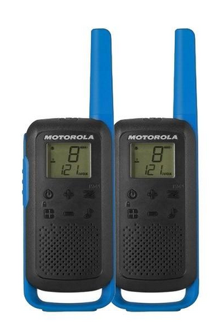 Motorola Talkabout T62 Licence Free Walkie Talkie - Twin Pack Blue - Radio-Shop.uk