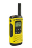 MOTOROLA TLKR T92 H2O Walkie Talkie - Angled View - Radio-Shop.uk