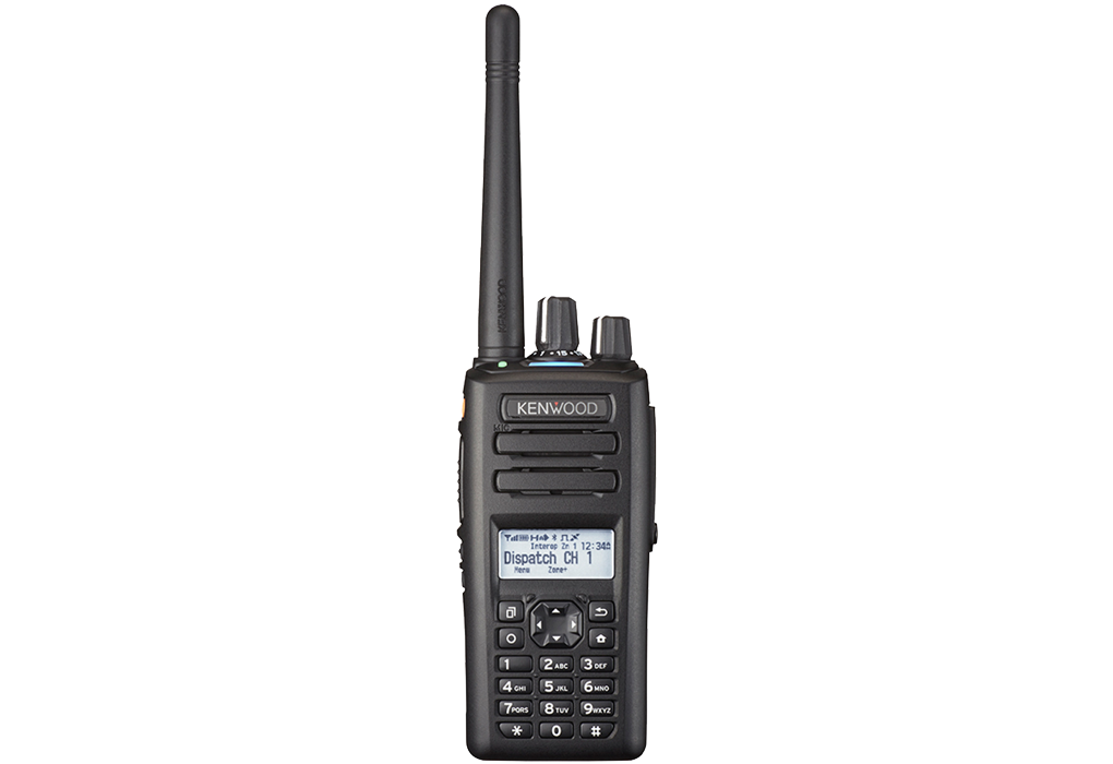 NX-3220E VHF NEXEDGE/DMR/Analogue Portable Radio with GPS/Bluetooth/Full Keypad