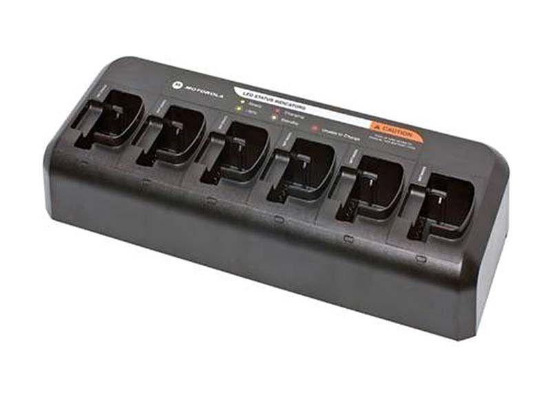Motorola CP040 Multi-Unit Charger, UK Plug (Replaceable Pockets) - PMLN6600A_Radio-Shop UK