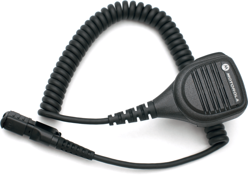 Motorola Remote Speaker Mic (IP57) with Enhanced Noise Reduction - PMMN4075A - Radio-Shop.uk