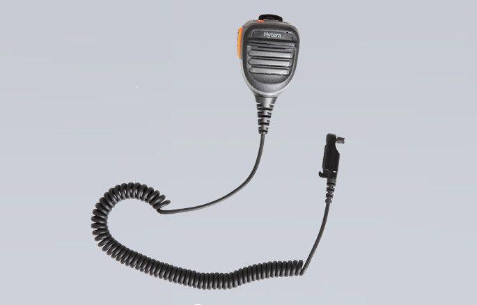 Hytera Remote Speaker Microphone with emergency button and 3.5mm audio jack - SM26N2 - Radio-Shop.uk